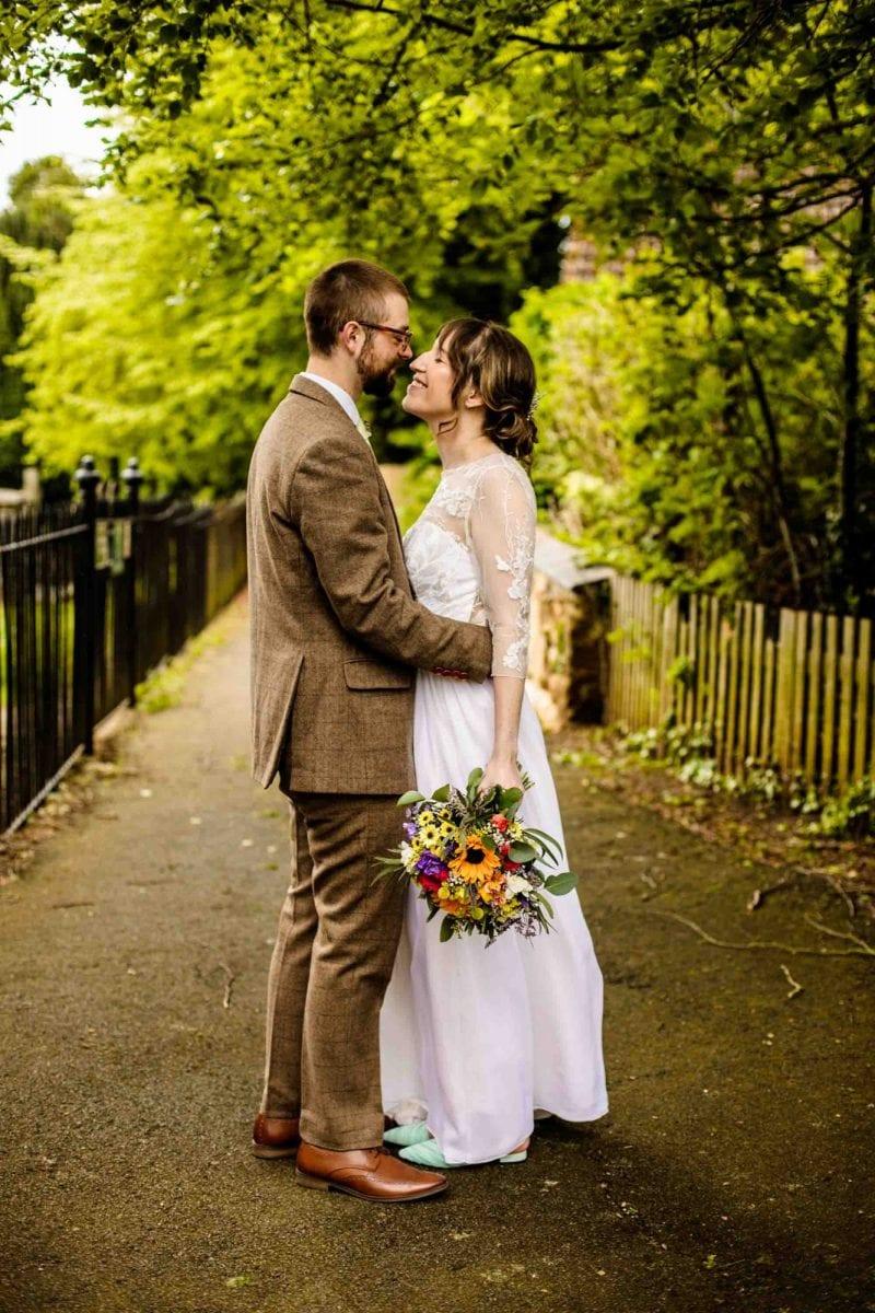Colourful Wedding Photographs
