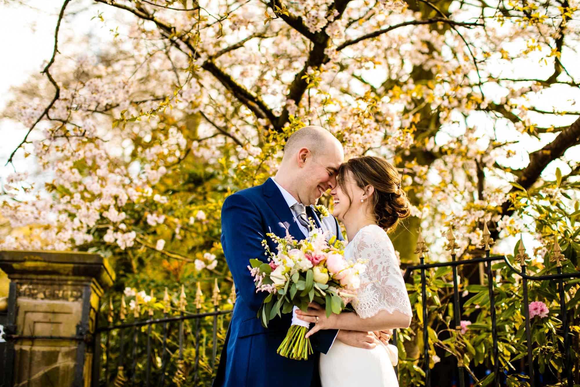 Wedding Photographs Fletcher Moss Manchester