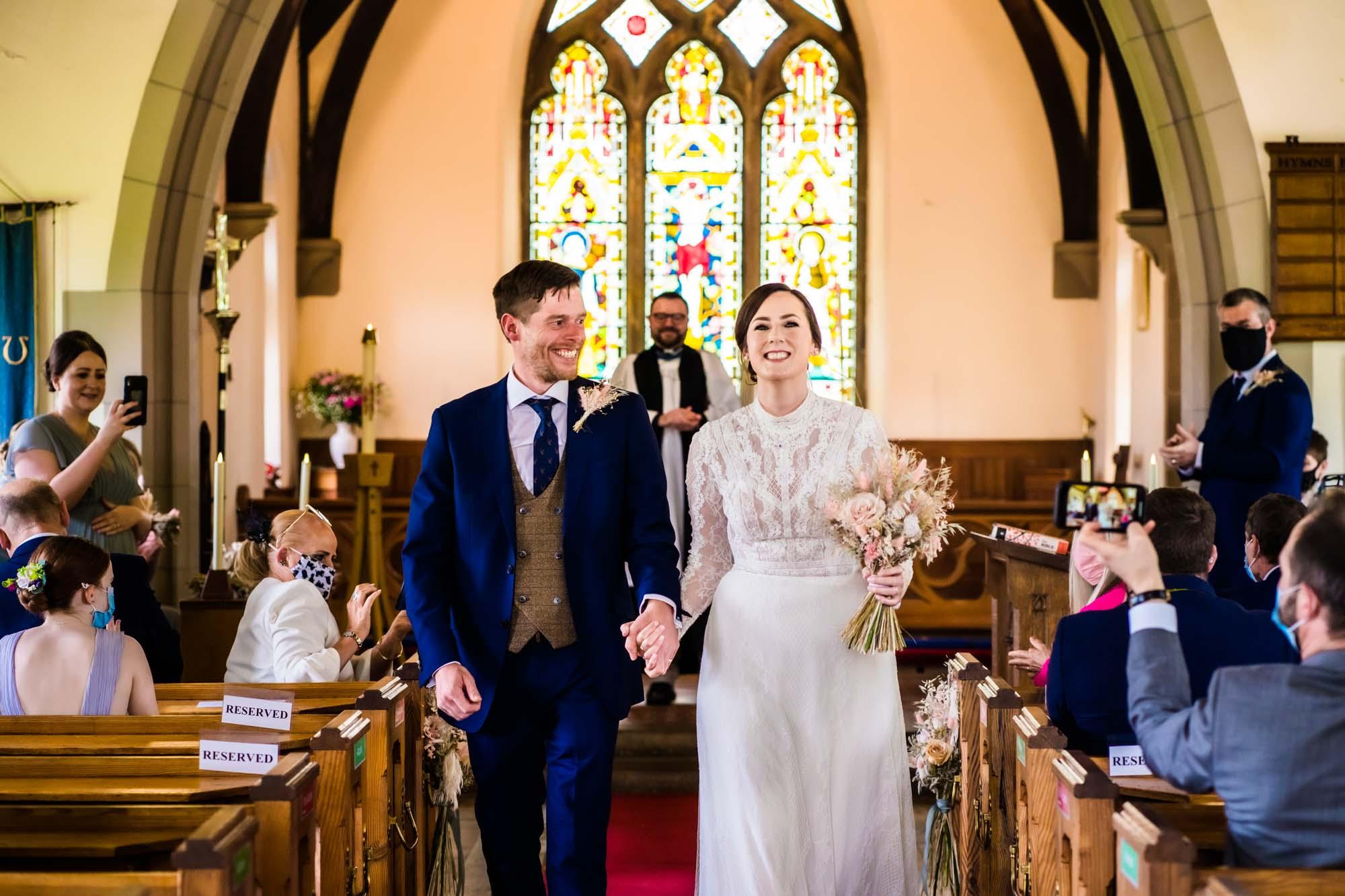 St Marks Dunham Massey Wedding Photographer