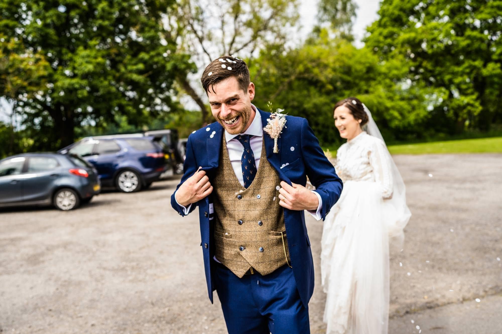 Wedding Photographs Dunham Massey Village Hall