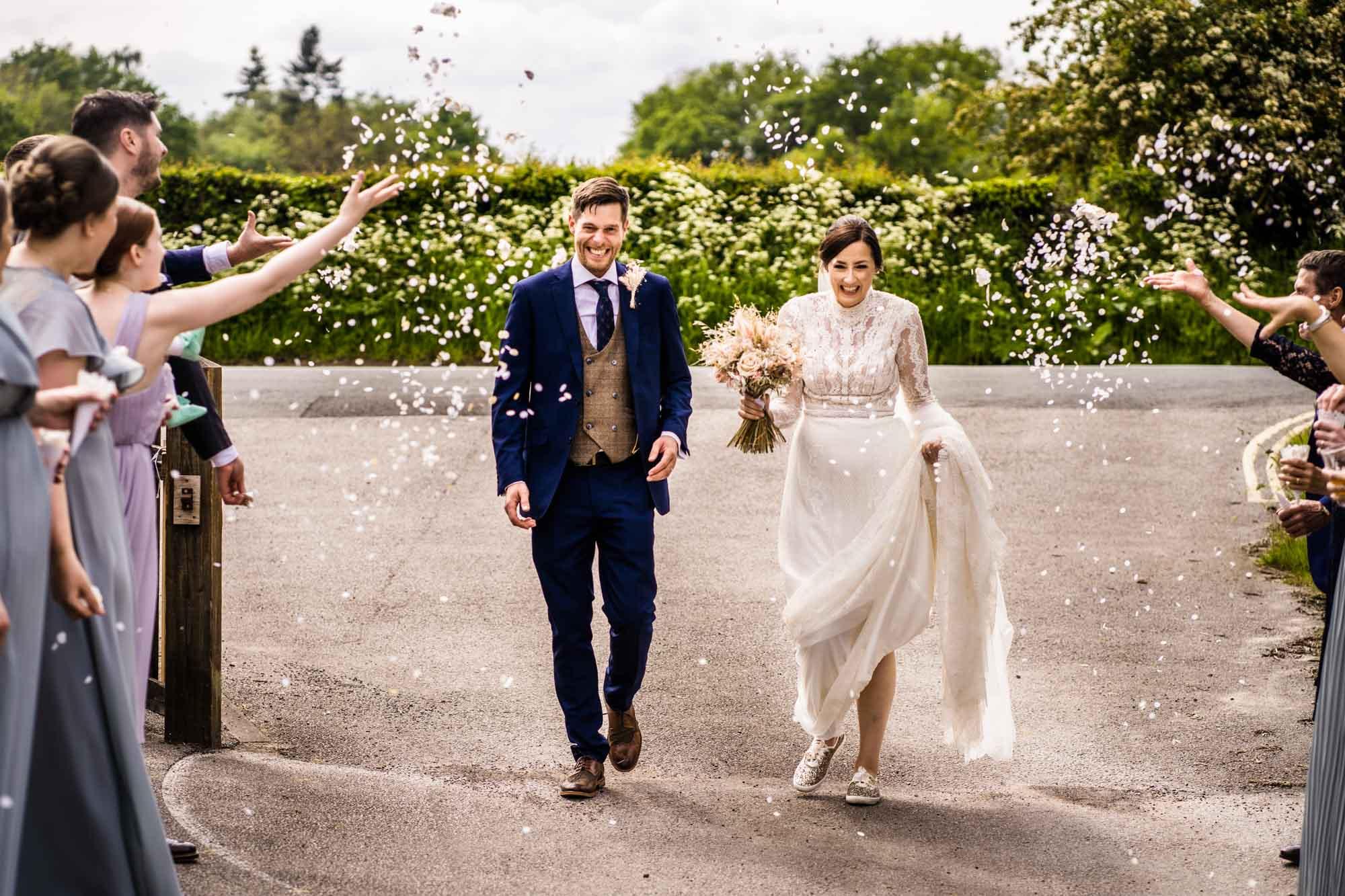 Wedding Photography Dunham Massey Village Hall